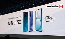 เปิดตัวแล้ว realme X50 5G กับครั้งแรกของมือถือ 5G ของ realme ที่ราคาจับต้องได้ง่ายที่สุด
