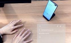 ล้ำเกิ๊น! Samsung เปิดตัวคีย์บอร์ดล่องหน Selfie Type ไม่ต้องมีแป้นพิมพ์ของจริงก็พิมพ์ได้!