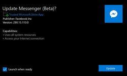 ยลโฉมใหม่ Facebook Messenger บน Windows เวอร์ชันเบต้า ใช้ได้แล้ววันนี้