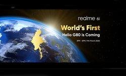 Realmeเตรียมเปิดตัวrealme6iรุ่นแรกที่ใช้ขุมพลังMediaTekHeiloG80ใหม่ล่าสุด17มีนาคมในพม่า