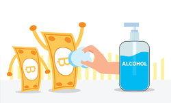 """วิธีทำความสะอาด """"เงินสด"""" เพื่อสุขภาวะที่ดี ห่างไกลเชื้อโรค"""