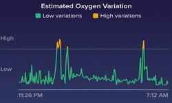 """ฟีเจอร์ใหม่จากฟิตบิท กราฟแสดงค่าออกซิเจน """"Estimated Oxygen Variation"""""""