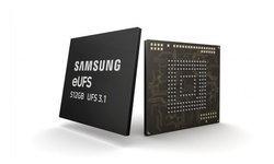 Samsungเริ่มผลิตความจำแบบeUFS3.1รุ่นใหม่ความจุ512GB