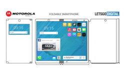 เผยสิทธิบัตรสมาร์ทโฟนพับได้ของ Motorola : เปิดออกมาเป็นแท็บเล็ตได้