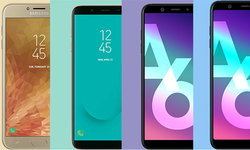 เทียบสเปก Samsung Galaxy J4 / J6 / A6 / A6+ สมาร์ทโฟนรุ่นใหม่ป้ายแดง มีฟีเจอร์เด่นอย่างไร