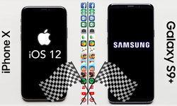เปรียบเทียบความเร็วในการเปิดแอปฯ ระหว่าง iPhone X บน iOS 12 beta 2 กับ Samsung Galaxy S9+