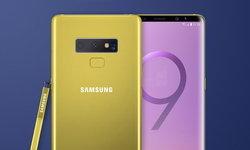 ชมภาพ Render Samsung Galaxy Note 9 สีเหลือง (หรือทอง) ตามสีปากกา S Pen ที่ปรากฏไปก่อนหน้า