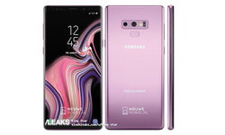 หลุด Samsung Galaxy Note 9 สี ม่วง Lilac Purple สวยงามตามท้องเรื่อง