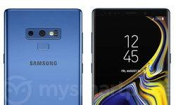ชมภาพ Samsung Galaxy Note 9 สี Blue Coral มีความเปลี่ยนไปจาก galaxy S9