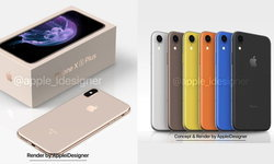 ชมภาพแนวคิด iPhone X Plus และ iPhone (2018) โดย AppleiDesigner