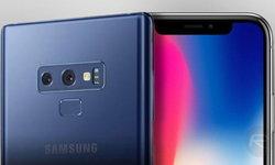 เทียบขนาด Galaxy Note 9 จอ 6.4″ กับแนวคิด iPhone X Plus จอ 6.5″