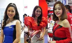 """ชมภาพพริตตี้งามๆ ที่หาชมได้ภายในงาน """"Thailand Mobile Expo 2018"""" ปลายปีนี้"""