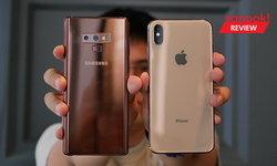 """เปรียบเทียบกล้อง """"iPhone XS Max"""" VS """"Samsung Galaxy S9"""" และ """"Galaxy Note 9"""" ภาคการใช้งานจริง"""