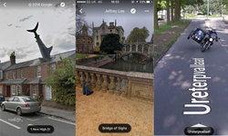 รวม 30 ภาพประหลาด ที่บังเอิญได้มาเพราะ Google Maps
