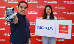"""ช็อปของดี การันตีของแท้ """"New Nokia 6.1 plus"""" พร้อมวางจำหน่ายแล้วที่ JD.co.th"""