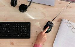 HP เปิดตัวเมาส์แบบมีสายแต่มีระบบสแกนลายนิ้วมือ สำหรับ PC