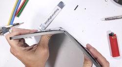 """โปรดระวังในการใช้! ผลทดสอบล่าสุดชี้ iPad Pro รุ่นใหม่ """"หักง่ายมาก"""""""