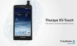 """สมาร์ทโฟนระบบดาวเทียม """"Thuraya X5-Touch"""""""