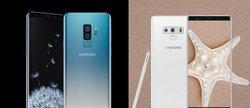 Samsung อินเดีย เปิดตัว Galaxy S9+ สีใหม่อย่าง Polaris Blue พร้อม Note 9 สี Alpine White