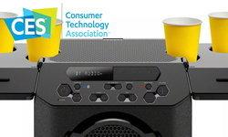 "[CES 2019] Sony เอาใจคนรักปาร์ตี้ด้วย ""ลำโพงคุณภาพสูง พร้อมที่วางเครื่องดื่ม"""