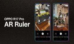 ฟีเจอร์ใหม่กำลังมา! OPPO R17 Pro สามารถใช้ AR Ruler วัดขนาดวัตถุได้
