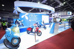Dtac เปิดตัวแพลตฟอร์มรถมอเตอร์ไซค์ไฟฟ้าแบบครบวงจร ในงาน Thailand Mobile Expo 2019