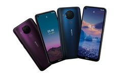 Nokia 5.4 เผยโฉมแล้วดีไซน์พรีเมียม, สเปกกลาง ในราคา 5,990 บาท