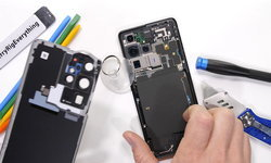 ชมคลิปแกะในของ Samsung Galaxy S21 Ultra ภายในมีอะไรที่น่าสนใจกว่าที่คิด