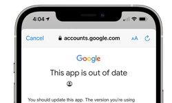 Gmail บน iOS แอปเก่าเกินโปรดอัปเดต!! แต่ดันไม่มีให้อัปเดตซะงั้น