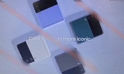 หลุดภาพและรายละเอียดของ Galaxy Z Flip3 จอนอกใหญ่ขึ้น และมีหลากสีสัน