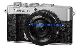 หลุดภาพ Olympus PEN E-P7 กับชื่อแบรนด์เดิม ไม่ใช่ OM Digital