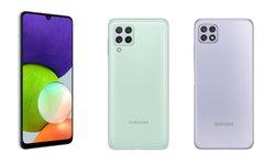 เปิดตัว Samsung Galaxy A22 Series มือถือรุ่นกลางที่รองรับ 5G ในราคาเริ่มต้น 1,289 บาท