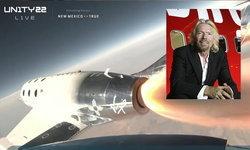 มหาเศรษฐี 'แบรนสัน' สร้างประวัติศาสตร์ท่องอวกาศด้วยยานเอกชน