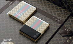 ลุ้นให้มาจริง Samsung Galaxy Z Flip 3 Gucci Fashion Luxury Edition