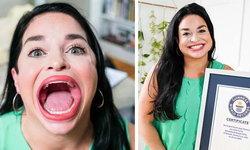 ดาว TikTok ปากกว้าง 6.52 เซนฯ เจ้าของสถิติปากกว้างที่สุดในโลก!