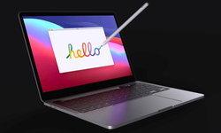 ชมภาพ Concept ของ MacBook Pro รุ่นใหม่พร้อมที่วาง Apple Pencil