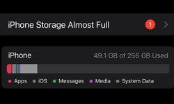 พบปัญหาของ iOS 15 ที่บางคนเจอคำเตือนพื้นที่ใกล้เต็มหลังจากอัปเดตกันไป