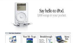 ครบรอบ 20 ปีการเปิดตัว iPod!
