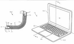 โผล่สิทธิบัตร Apple MacBook แบบโค้งงอ พับได้โดยที่ไม่ใช้กลไกแบบบานพับ