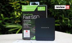 ทดลองเล่น Seagate BarraCuda Fast SSD ขนาดพกพา ประสิทธิภาพชั้นเลิศ ดีไซน์สวย เจนไหนๆ ก็ชอบ!