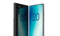 หลุดภาพSamsung Galaxy Note 20อีกชุดที่แสดงให้เห็นว่าจอไม่โค้งแล้วนะ
