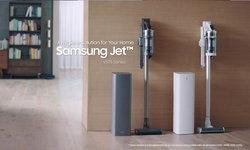 ซัมซุง เปิดตัวเครื่องดูดฝุ่นไร้สาย Samsung Jet™ รุ่นใหม่และเครื่อง Clean Station™ โซลูชั่นความสะอาด
