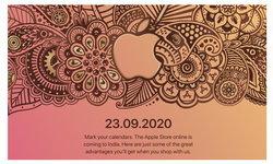 Apple จะเปิดให้บริการ Online Store ในประเทศอินเดีย 23 กันยายน นี้