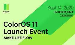 OPPOเตรียมเปิดตัวColorOS11พร้อมกับAndroid 11รุ่นใหม่ในวันที่14กันยายนที่จะถึงนี้