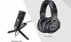 อาร์ทีบีฯ ส่งแพ็กคอนเทนต์ครีเอเตอร์! ชุดหูฟัง ATH-M40x และไมโครโฟน ATR2500X-USB
