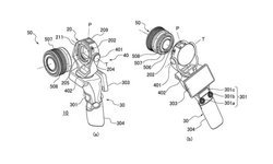 สิทธิบัตรใหม่ กล้อง Canon เปลี่ยนเลนส์ได้ติด Gimbal ที่คล้ายกับตัว DJI OSMO!