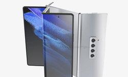 หลุดภาพเรนเดอร์ใหม่ Samsung Galaxy Z Fold 3 ที่พับจอได้ 3 ท่อน