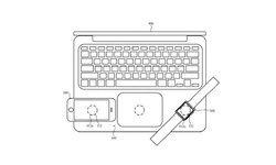 หลุดสิทธิบัตร MacBook รุ่นใหม่ ใส่ระบบชาร์จไร้สาย ไว้ชาร์จ iPhone และ Apple Watch ได้