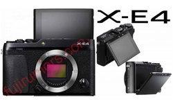 ลือ Fujifilm X-E4 จะมาพร้อมจอ Tilt พับขึ้นเซลฟีได้ คล้ายรุ่น X70