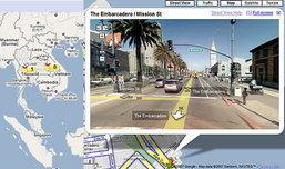 Google Maps แสดงจราจรของไทยแบบ สดๆได้แล้ว